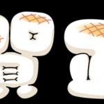 【font】フリーお正月文字素材「おもちフォントで賀正」